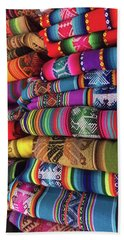 Colorful Tablecloths Hand Towel