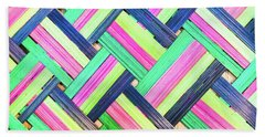 Colorful Wicker Hand Towel