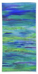 Colors Of Summer Hand Towel