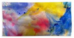 Colors Of The Skies Hand Towel by Khalid Saeed