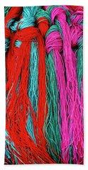 Colors Of Tibet Hand Towel