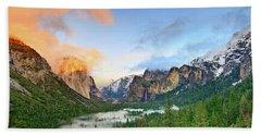 Colors Of Yosemite Hand Towel