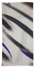 Hand Towel featuring the painting Abstract Colors by Sheila Mcdonald