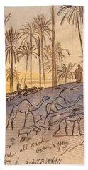Colosaneh, Five-forty-five - Six P.m., January 3, 1867 Hand Towel