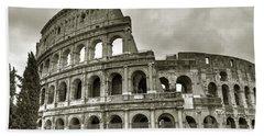 Colosseum  Rome Hand Towel