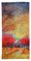 Colour Burst Hand Towel