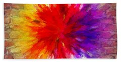 Colour To Lift Your Soul Bath Towel