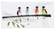 Colourful Family Hand Towel