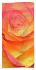 Bath Towel featuring the photograph Colourful Rosie by Roy McPeak