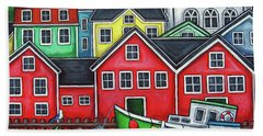 Colours Of Lunenburg Bath Towel