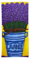Colours Of Provence Hand Towel