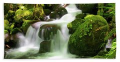 Columbia Gorge Stream Bath Towel
