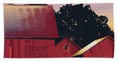 Columbia Maryland Farm - Farm Fresh Produce Bath Towel by Glenn Gemmell