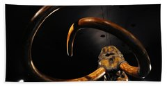 Columbian Mammoth La Brea Tar Pits Bath Towel