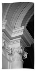 Columns At Hermitage Hand Towel