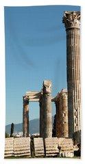 Columns Of Athens Hand Towel