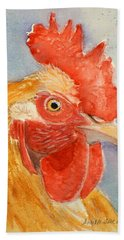 Comb And Feathers Bath Towel