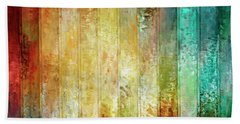 Come A Little Closer - Abstract Art Bath Towel