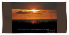 Come Away With Me  Hand Towel by Christy Ricafrente