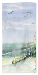 Come Fly With Me Hand Towel