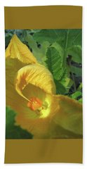 Come Hither - Squash Blossom Hand Towel by Brooks Garten Hauschild