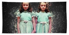 Come Play With Us - The Shining Twins Hand Towel