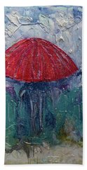 Come Rain Or Snow Bath Towel by John Stuart Webbstock