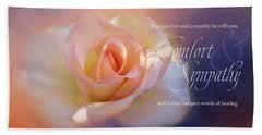 Comfort And Sympathy Hand Towel