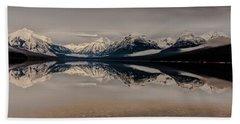 Lake Mcdonald Glacier National Park Bath Towel