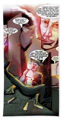 Comic Page Edit Hand Towel