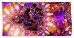 Bath Towel featuring the digital art Coming Home by Robert Orinski