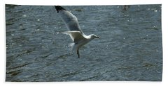 Coming In For A Landing Bath Towel