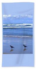 Companion Crows Hand Towel