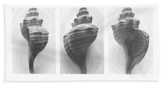 Hand Towel featuring the photograph Conch Erotica by John Bartosik