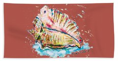 Conch Shell Hand Towel