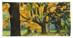 Concord Fall Trees Hand Towel