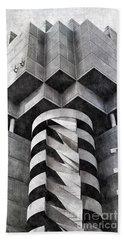 Concrete Geometry Hand Towel