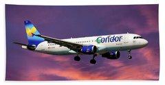 Condor Airbus A320-212 Hand Towel
