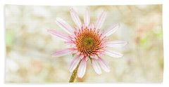 Cone Flower Bath Towel by Jay Stockhaus