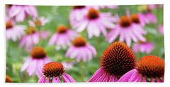 Coneflowers Hand Towel by David Chandler