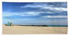 Coney Island Beach Hand Towel