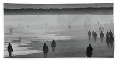 Coney Island Walkers Hand Towel