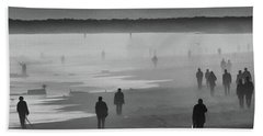 Coney Island Walkers Bath Towel