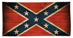Confederate Flag Bath Towel