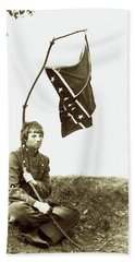 Confederate Soldier Hand Towel