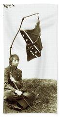 Confederate Soldier Hand Towel by KG Thienemann