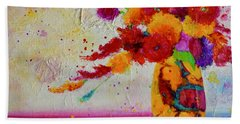 Confetti Bath Towel by Nancy Jolley