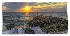 Connecticut Sunset Bath Towel