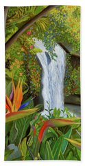 Conquest Of Paradise Hand Towel