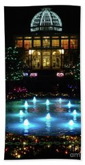 Conservatory At Night Bath Towel
